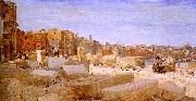 Giovanni   Giacometti Stonebreakers at Lungotevere oil painting picture wholesale