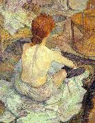 Henri  Toulouse-Lautrec La Toilette oil painting picture wholesale