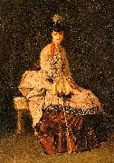 Jules-Adolphe Goupil Lady Seated oil painting picture wholesale