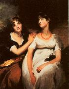 Sir Thomas Lawrence The Daughters of Colonel Thomas Carteret Hardy oil painting picture wholesale