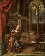 Titian St.Catherine of Alexandria at Prayer oil painting picture wholesale