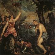 Titian Spain Succoring Religion oil painting picture wholesale