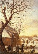 AVERCAMP, Hendrick Winter Landscape  ggg oil painting picture wholesale