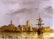 Aelbert Cuyp View of Dordrecht oil painting picture wholesale