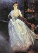 Albert Besnard Portrait of Madame Roger Jourdain oil painting picture wholesale