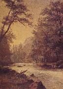 Albert Bierstadt Lower Yosemite Valley oil painting picture wholesale