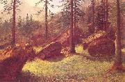 Albert Bierstadt Wooded Landscape oil painting picture wholesale
