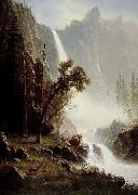 Albert Bierstadt Bridal Veil Falls, Yosemite oil painting picture wholesale