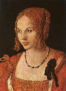 Albrecht Durer Portrait of a Young Venetian Lady oil painting artist