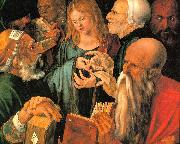 Albrecht Durer Christ Among the Doctors oil painting artist
