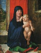Albrecht Durer Madonna and Child_y oil painting artist