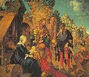Albrecht Durer The Adoration of the Magi_z oil painting artist