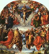 Albrecht Durer Adoration of the Trinity oil painting artist