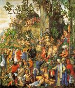 Albrecht Durer Martyrdom of the Ten Thousand oil painting artist