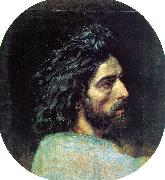 Alexander Ivanov John the Baptist's Head oil painting artist
