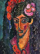 Alexei Jawlensky Spanish Woman oil painting artist