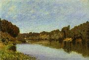 Alfred Sisley The Seine at Bougival oil painting picture wholesale