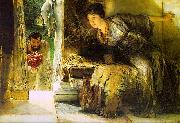 Alma Tadema Welcome Footsteps oil painting picture wholesale