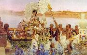 Alma Tadema The Finding of Moses oil painting picture wholesale