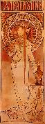 Alphonse Mucha La Trappistine oil painting picture wholesale