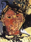 Amedeo Modigliani Portrait of Pablo Picasso oil painting artist