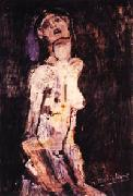 Amedeo Modigliani Suffering Nude oil painting artist
