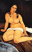 Amedeo Modigliani Draped Nude oil painting artist