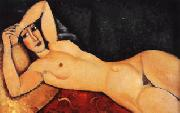 Amedeo Modigliani Reclining Nude with Arm Across Her Forehead oil painting artist