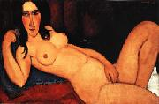 Amedeo Modigliani Reclining Nude with Loose Hair oil painting picture wholesale