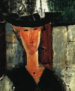 Amedeo Modigliani Madam Pompadour oil painting picture wholesale