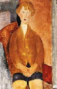 Amedeo Modigliani Boy in Short Pants oil painting picture wholesale