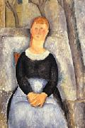 Amedeo Modigliani La belle epiciere oil painting picture wholesale