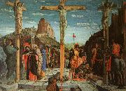 Andrea Mantegna The Crucifixion oil painting artist