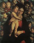 Andrea Mantegna Madonna and Child with Cherubs oil painting picture wholesale