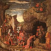 Andrea Mantegna Adoration of the Magi oil painting artist