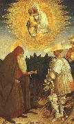 Antonio Pisanello The Virgin and the Child with Saints George and Anthony Abbot oil painting picture wholesale