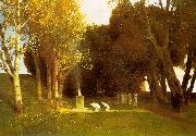 Arnold Bocklin The Sacred Wood oil painting picture wholesale