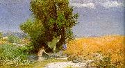 Arnold Bocklin Nymphs Bathing oil painting picture wholesale
