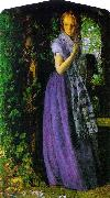 Arthur Hughes April Love oil painting artist