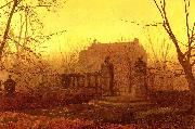 Atkinson Grimshaw Autumn Morning oil painting picture wholesale