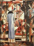 August Macke Large Bright Shop Window oil painting picture wholesale