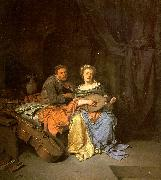 BEGA, Cornelis The Duet  hgg oil painting picture wholesale