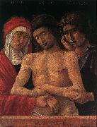 BELLINI, Giovanni Dead Christ Supported by the Madonna and St John (Pieta) fd oil painting picture wholesale