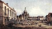 BELLOTTO, Bernardo New Market Square in Dresden from the Jdenhof oil painting picture wholesale