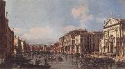 BELLOTTO, Bernardo View of the Grand Canal at San Stae oil painting artist