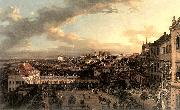 BELLOTTO, Bernardo View of Warsaw from the Royal Palace nl oil painting picture wholesale