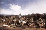 BELLOTTO, Bernardo View of Gazzada near Varese oil painting picture wholesale