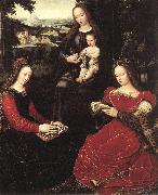 BENSON, Ambrosius Virgin and Child with Saints oil painting artist