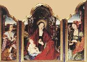 BENSON, Ambrosius Virgin with the Pear fdf oil painting artist