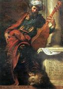 BOCCACCINO, Camillo The Prophet David oil painting artist